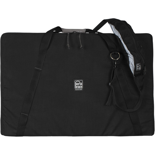 Porta Brace Soft Padded Carrying Case for Litepanels Gemini and Yoke (Black)