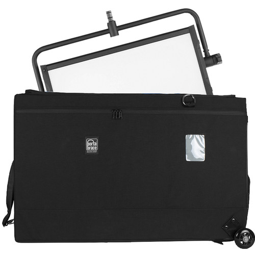 Porta Brace Wheeled Carrying Case for Litepanels Gemini, Yoke & Stand (Black)