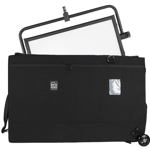 Porta Brace Wheeled Carrying Case for Litepanels Gemini, Yoke and Stand (Black)