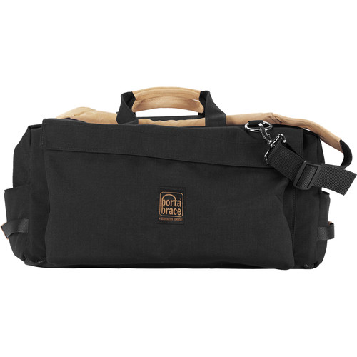 "Porta Brace LR-2GR75 Light Run Bag with Two 22 X 24"" Pouches (Medium, Black)"