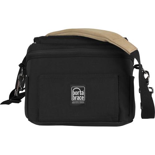 Porta Brace Custom Messenger-Style DSLR Camera Case for Canon 5D Mark IV (Black)