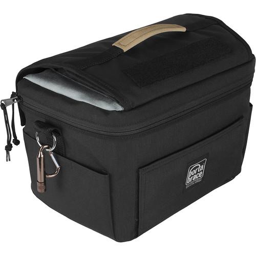 Porta Brace Custom Messenger-Style DSLR Camera Case for Nikon D850 (Black)