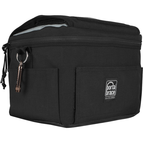 Porta Brace Messenger Style Camera Bag for Sony RX10 III and IV Cameras (Black)