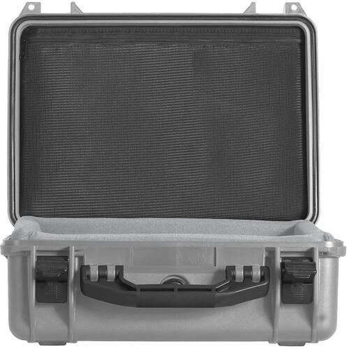 Porta Brace PB-2400DKP Hard Case with Custom Foam (Silver Platinum)