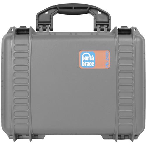 Porta Brace PB-2400EP Hard Case without Foam (Silver Platinum)