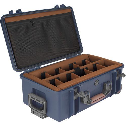 Porta Brace PB-2550DSLR+ Hard Rolling Case with Padded Divider Kit