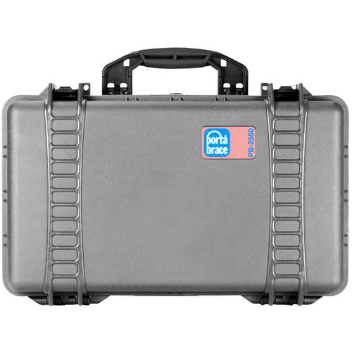Porta Brace PB-2550 Hard Case without Foam (Silver Platinum)