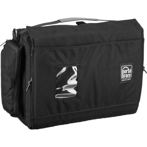 Porta Brace Carrying Case for DSLR Camera, Multiple Lenses and Accessories (Black)