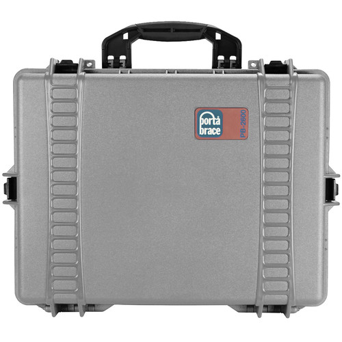 Porta Brace PB-2600EP Hard Case without Foam (Silver Platinum)