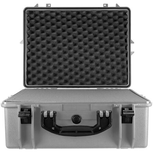 Porta Brace PB-2600FP Hard Case with Foam Interior (Silver Platinum)