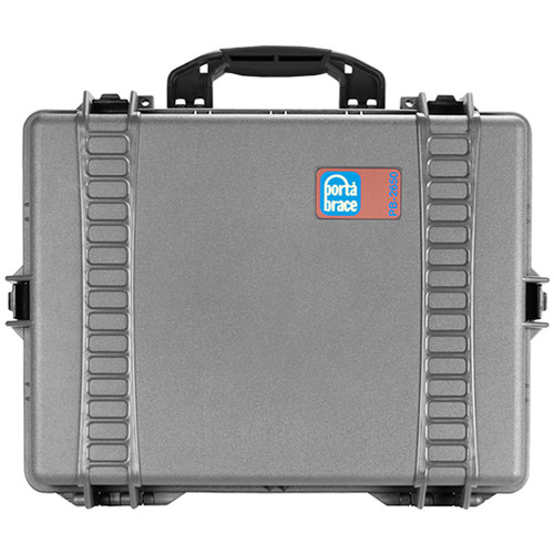 Porta Brace PB-2650 Wheeled Hard Case without Foam (Silver Platinum)