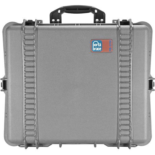 Porta Brace PB-2700 Hard Case with Foam (Silver Platinum)