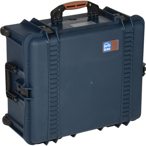 Porta Brace PB-2750DK+ Hard Case with Premium Padded Divider Kit Upgrade (Blue)