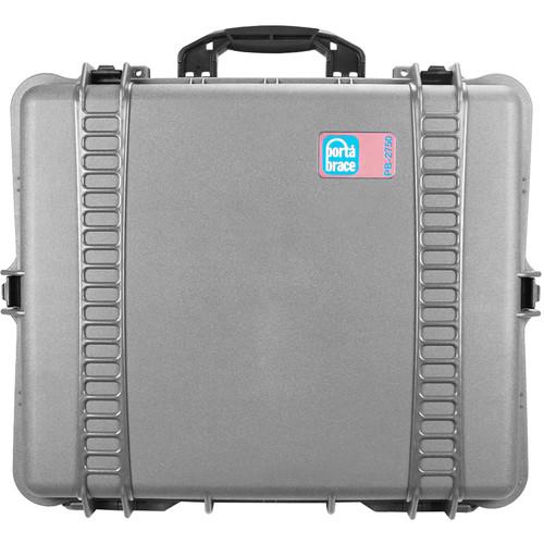 Porta Brace PB-2750 Hard Case without Foam (Silver Platinum)