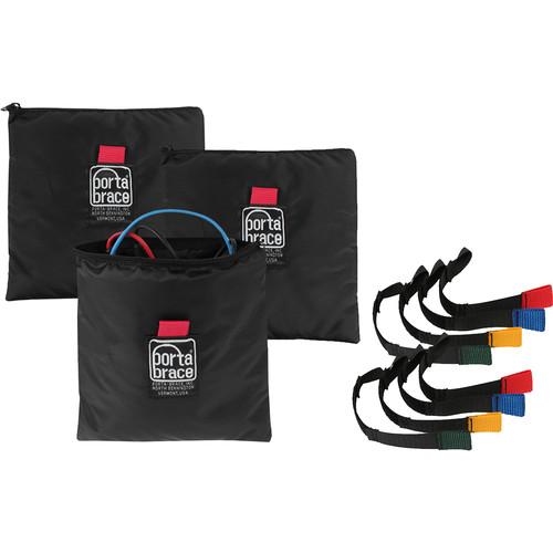 Porta Brace Accessory Organizing Kit for A/V Cables