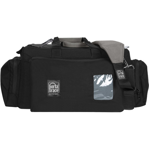 Porta Brace Shoot-Ready Carrying Case for Small & Medium Camcorders (Black and Gray)