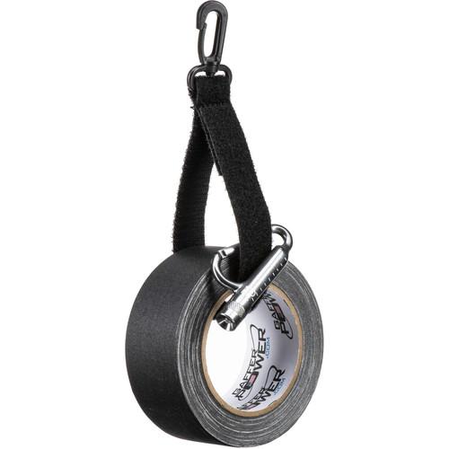 Porta Brace Piggin' String Gaffer Tape Spooler with Carabiner/Flashlight & Tape