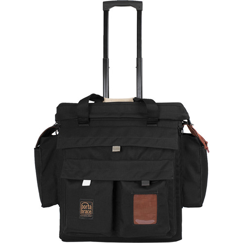 Porta Brace Wheeled Carrying Case for 3 MW8 Ikan Mylo Light Kit (Black)
