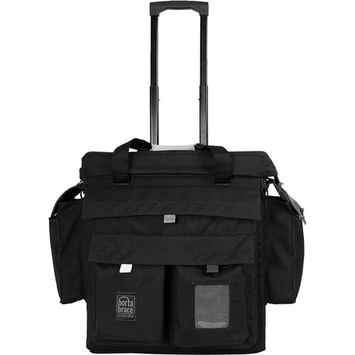 Porta Brace Large Production Case with Off-Road Wheels (Black)