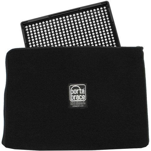 """Porta Brace Zippered Padded Pouch for Onboard Light up to 12"""""""