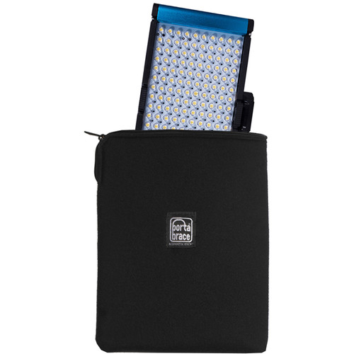 """Porta Brace Zippered Padded Pouch for Onboard Light up to 7"""""""