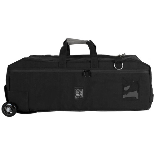 PortaBrace RIG-6SRKOR Run Bag-Style Case with Off-Road Wheels for Camera Rig