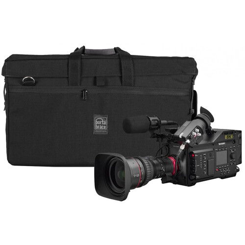 Porta Brace Shoot-Ready Rigid Frame Carrying Case for Sharp 8C-B60A 8K Camera