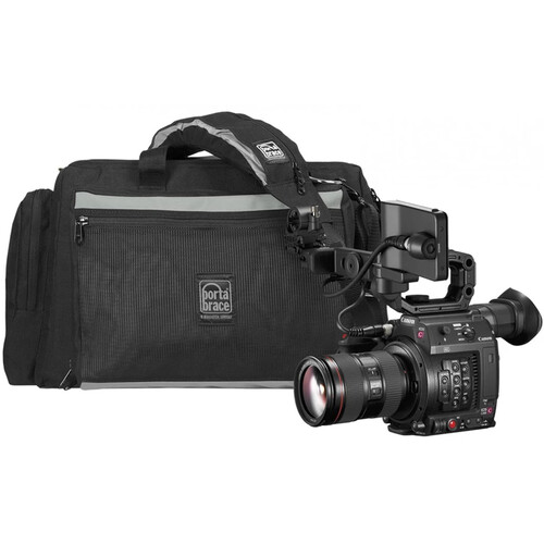 Porta Brace Rigid-Framed Soft-Sided Carrying Case for Canon EOS C200