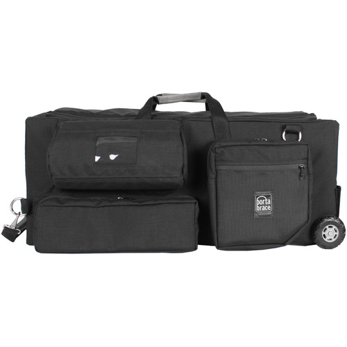 Porta Brace Rigid Carrying Case with Off-Road Wheels for Sony PXW-FX9 Camera