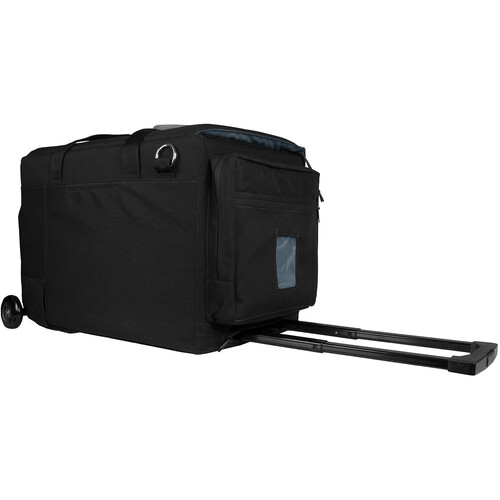 PortaBrace Rigid-Frame Carrying Case with Off-Road Wheels for Blackmagic URSA Mini