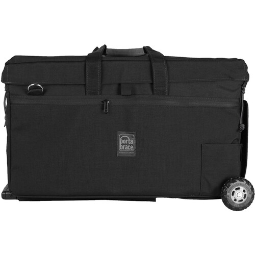 PortaBrace Carrying Case with Off-Road Wheels for RED WEAPON Camera Rig