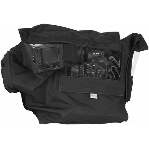 PortaBrace Custom-Fit Rain Cover for Panasonic AU-EVA1 Camera, Lens, and Battery