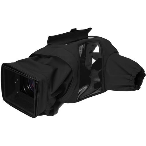 Porta Brace Rain Slicker for Panasonic Lumix DC-GH5 and DC-GH5S (Black)