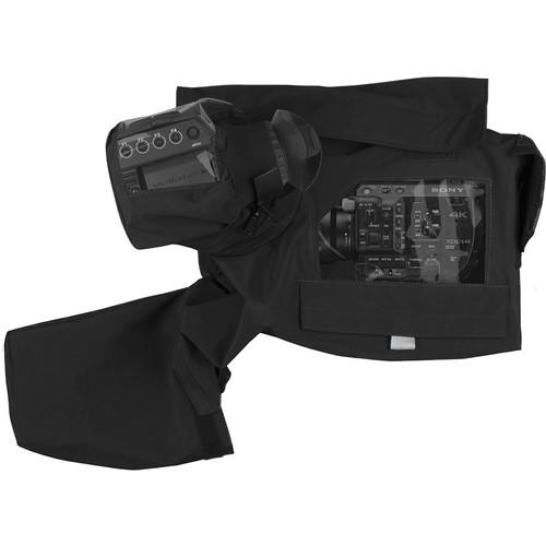 Porta Brace Rain Cover for Sony FS5 with Zacuto EVF Recoil Rig