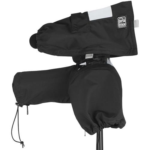 Porta Brace Rain Cover for DSLR with Zoom F1 Recorder (Black)