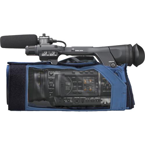 PortaBrace Shoulder Case for Panasonic AG-HPX250 Camcorder (Blue)