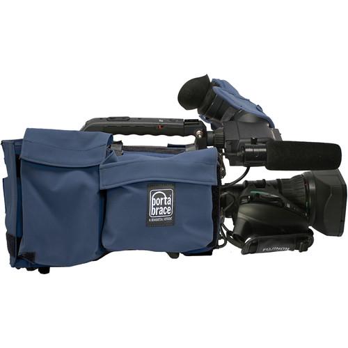 PortaBrace SC-HPX370 Cover for Panasonic AG-HPX370 (Blue)