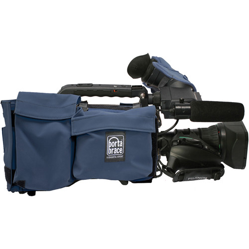 Porta Brace SC-HPX370 Cover for Panasonic AG-HPX370 (Blue)