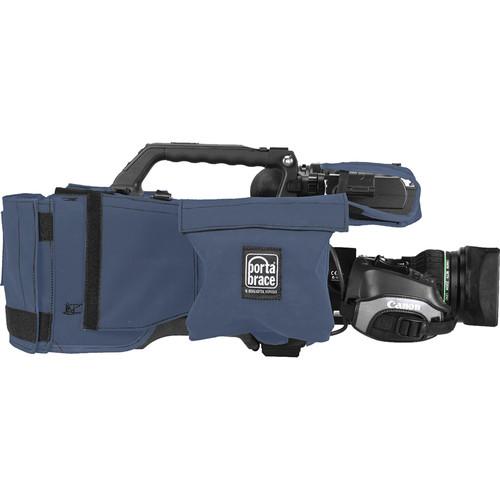 PortaBrace Shoulder Case for Panasonic AG-HPX380 Camcorder (Blue)