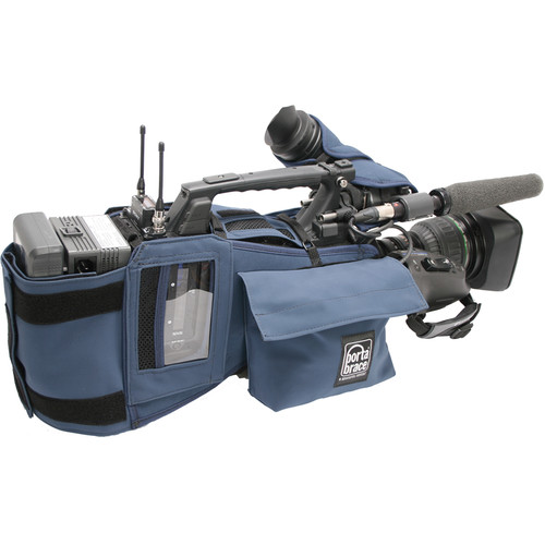 Porta Brace Custom Fitted Shoulder Case for Sony PXW-X500 XDCAM Camcorder (Blue)
