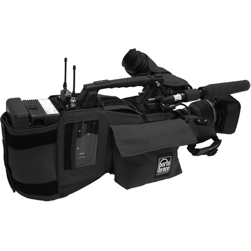 PortaBrace Custom Fitted Shoulder Case for Sony PXW-X500 XDCAM Camcorder (Black)