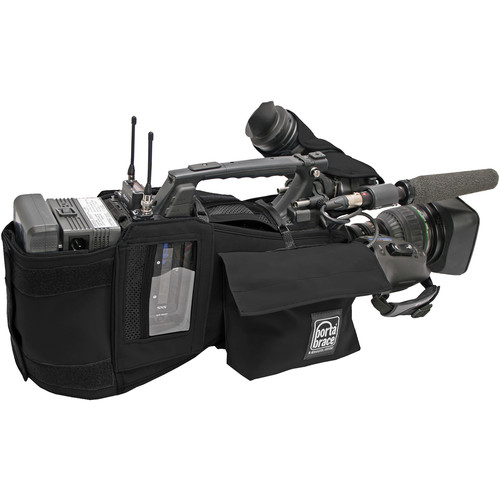 Porta Brace Custom-Fit Shoulder Case for Sony PXW-Z450 Camera (Black)