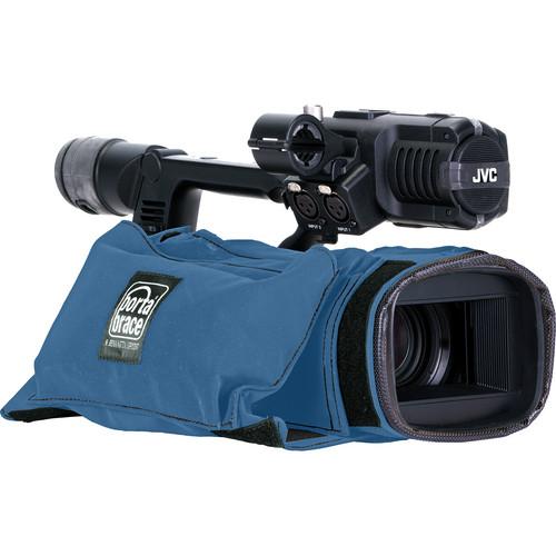 Porta Brace Camera Body Armor for the JVC GY-HM600U ProHD Camcorder (Blue)
