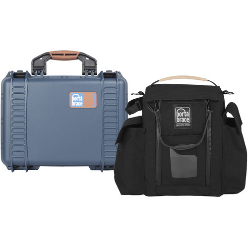 Porta Brace Slinger-Style Lens Case with PB-2400E Hard Case Shell