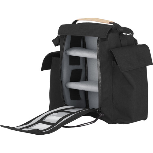 PortaBrace Slinger-Style Carrying Case for Camera Lenses and Accessories (Black)