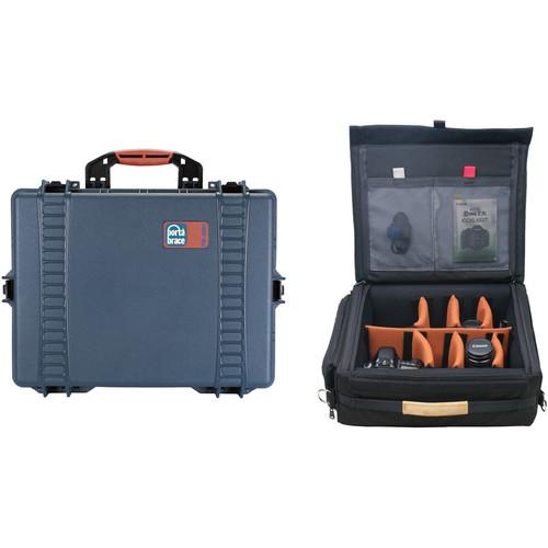 Porta Brace Light Vault Hard Case & Padded Cordura Lens Case Kit