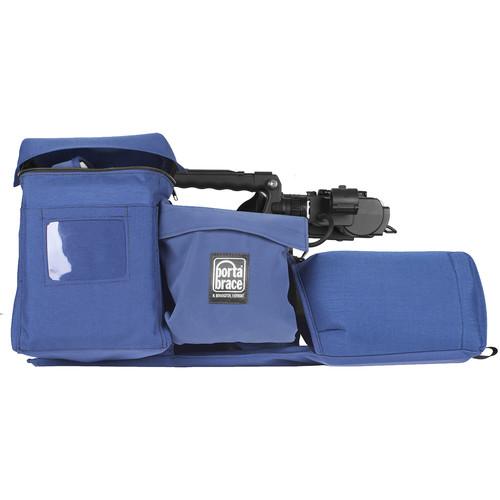 Porta Brace Travel ENG Lens Protector for Panasonic AJ-PX380 (Blue)
