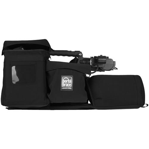 Porta Brace Travel ENG Lens Protector for Panasonic AJ-PX380 (Black)