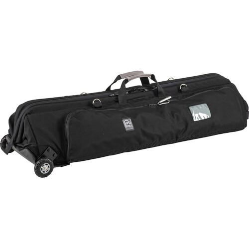 PortaBrace TLQB-46XTOR Quick Tripod/Light Case with Wheels (Black)