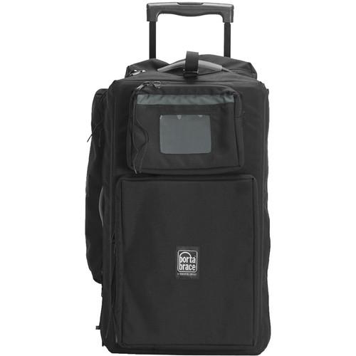Porta Brace Wheeled Rigid Frame DSLR Case (Black)